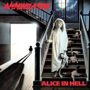 ANNIHILATOR (Canada) _ Alice in hell CD1989