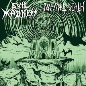 Evil Madness/ Infant Death _Split  vinyl